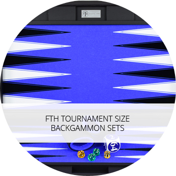 Tournament Size Backgammon Boards
